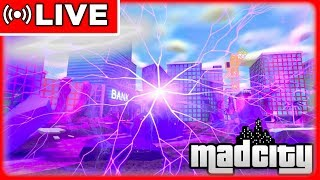 👽 BALD *ALIENS & UFO* UPDATE?!* - MAD CITY ROBLOX 🔴 LIVE