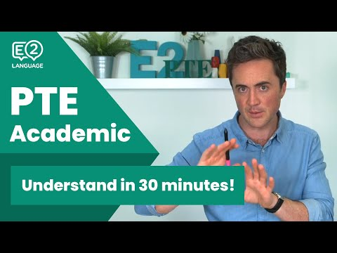 Understand PTE Academic in JUST 30 minutes! - YouTube