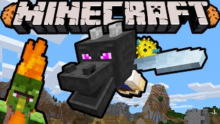 Minecraft DRAGON BOY Begins - Episode 1 - Dragon Fly! (Super Hero Story & Improv Adventure)
