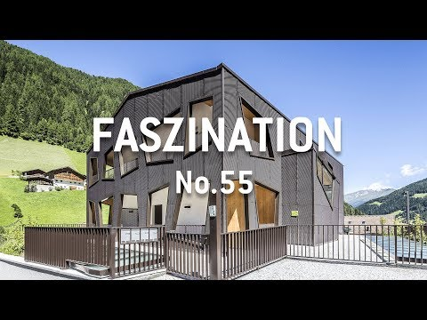 Moderne Architektur trifft auf idyllische Bergwelt