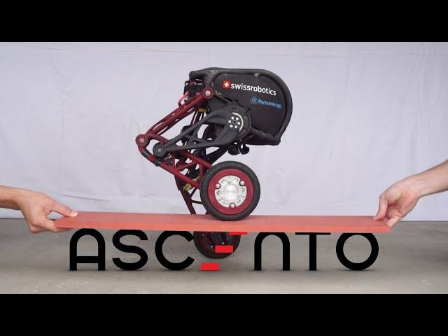 Проворный Ascento взял лучшее от колесных и шагающих роботов