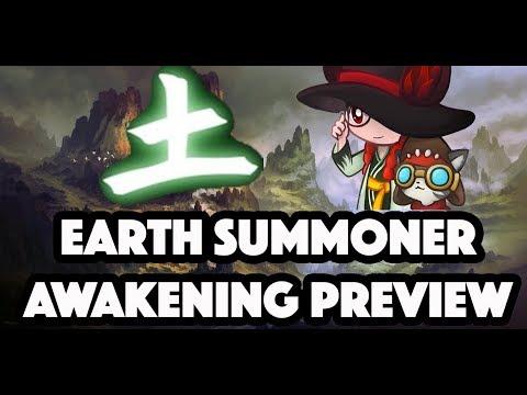 Test Server Awaken Summoner Skills Animation - Blade and