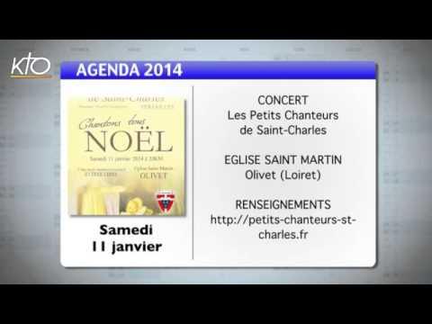 Agenda du 06 janvier 2014