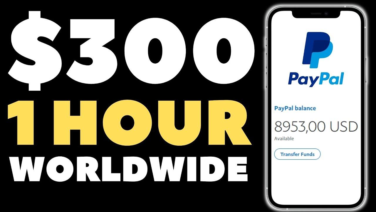 $300 in 1 HOUR * EASY METHOD * - Make Money Online 2021 thumbnail
