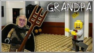 LEGO Stop Motion Grandpa / Horror game Grandpa / LEGO Stop Motion, Animation