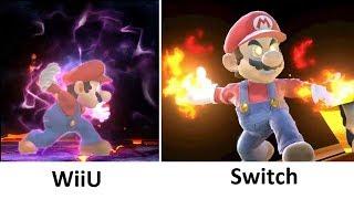 Super Smash Bros Switch vs WiiU Final Smash Comparison - dooclip.me