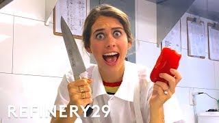 I Trained As A Michelin Star Chef | Lucie For Hire | Refinery29