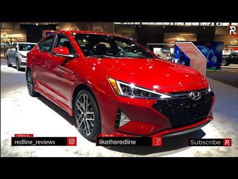 2019 Hyundai Elantra Sport – Redline: First Look – 2019 Chicago Auto Show