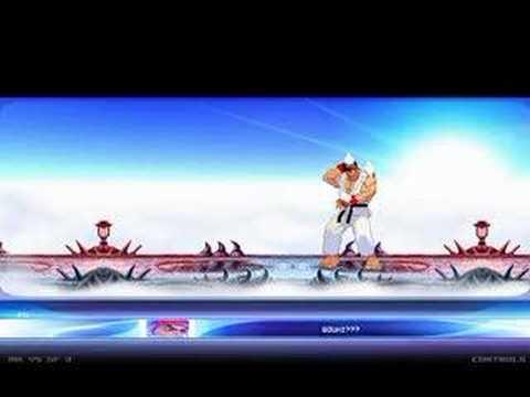 MK vs SF 3 (Chameleon vs Shin Akuma) (Story only) [1 of 2]