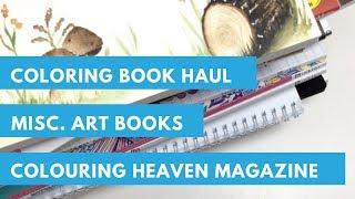 Coloring Book Haul | Colouring Heaven Magazine