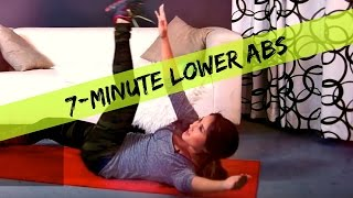 7 Minute Lower Abs | Belly Fat Burner by Kelsey Lee