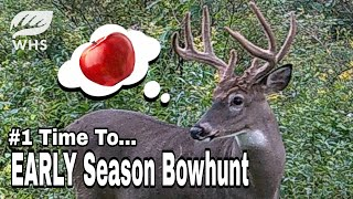 #1 Time To Bowhunt The Early Season