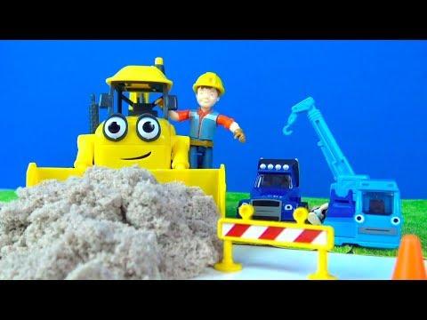 Bob der Baumeister Spielzeuge Wissper's Tierfreunde sind im Sand stecken geblieben Rettungsaktion