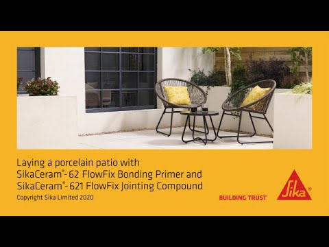 SikaCeram FlowFix, The NEW Porcelain Paving Installation System