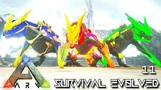 ARK: SURVIVAL EVOLVED - ELEMENTAL MANAGARMR POISON LIGHTNING FIRE !!! | ARK EXTINCTION ETERNAL E11