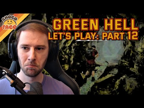 LET'S PLAY: Green Hell Part 12 - chocoTaco and Reid Green Hell Survival Gameplay
