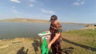 Рыболовная подставка для прикормки