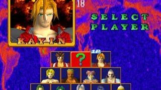 Battle Arena Toshinden 2 PS1 Kayin 1P Game Playthrough