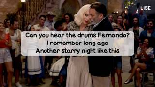 Mamma Mia! Here We Go Again   Fernando (Lyrics Video)