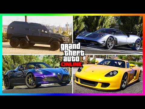 GTA 5 ONLINE - 10 FORGOTTEN CAR COMPANIES THAT DESPERATELY NEED NEW VEHICLES ADDED INTO GTA ONLINE!