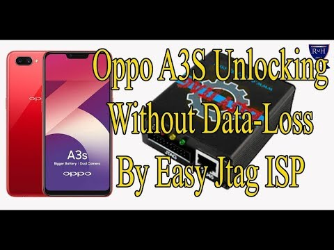 Oppo A3S pin Unlocking Without Data-Loss By Easy Jtag