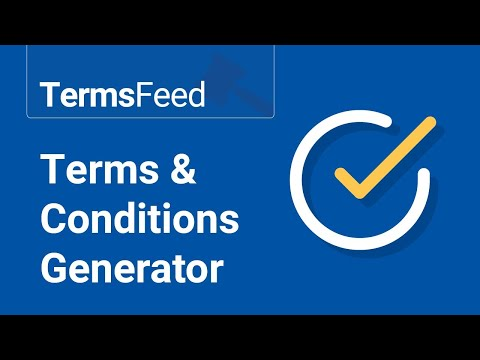 Terms & Conditions Generator