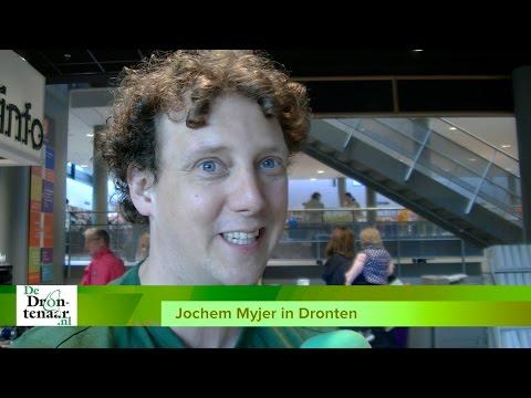 VIDEO | Jochem Myjer: ,,Dronten heeft een mooi plekje in mijn hart''