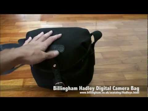 What's in my Camera Bag (Billingham bag pack for Street Photography)
