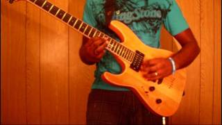 Extol - Your beauty Divine guitar solo cover by Chris Cabrera