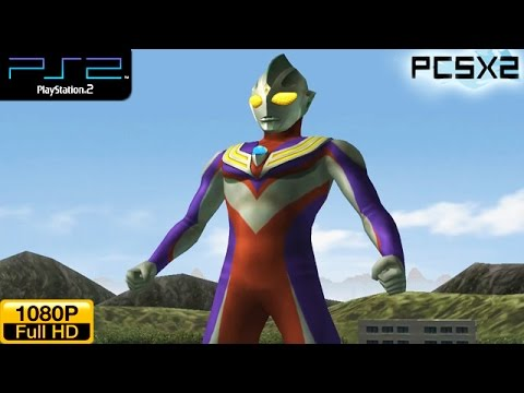 Ultraman Fighting Evolution 3 Ps2 Gameplay 1080p Pcsx2