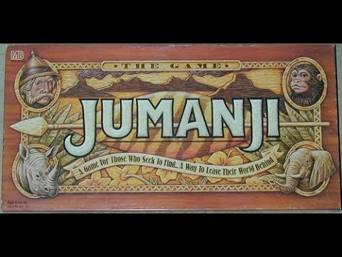 The Purge: # 1880 Jumanji: The movie, or at least the game from the movie, comes to life on your dining room table