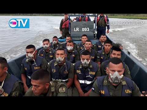 Ejército establece zona de seguridad en zona afectada por incendio en Indio Maíz