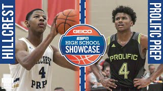 Jalen Green Scores 33 - Prolific Prep (CA) vs. Hillcrest Prep (AZ) - 2019 ESPN Broadcast Highlights