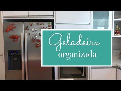Modelo e organização da minha geladeira side by side Electrolux.