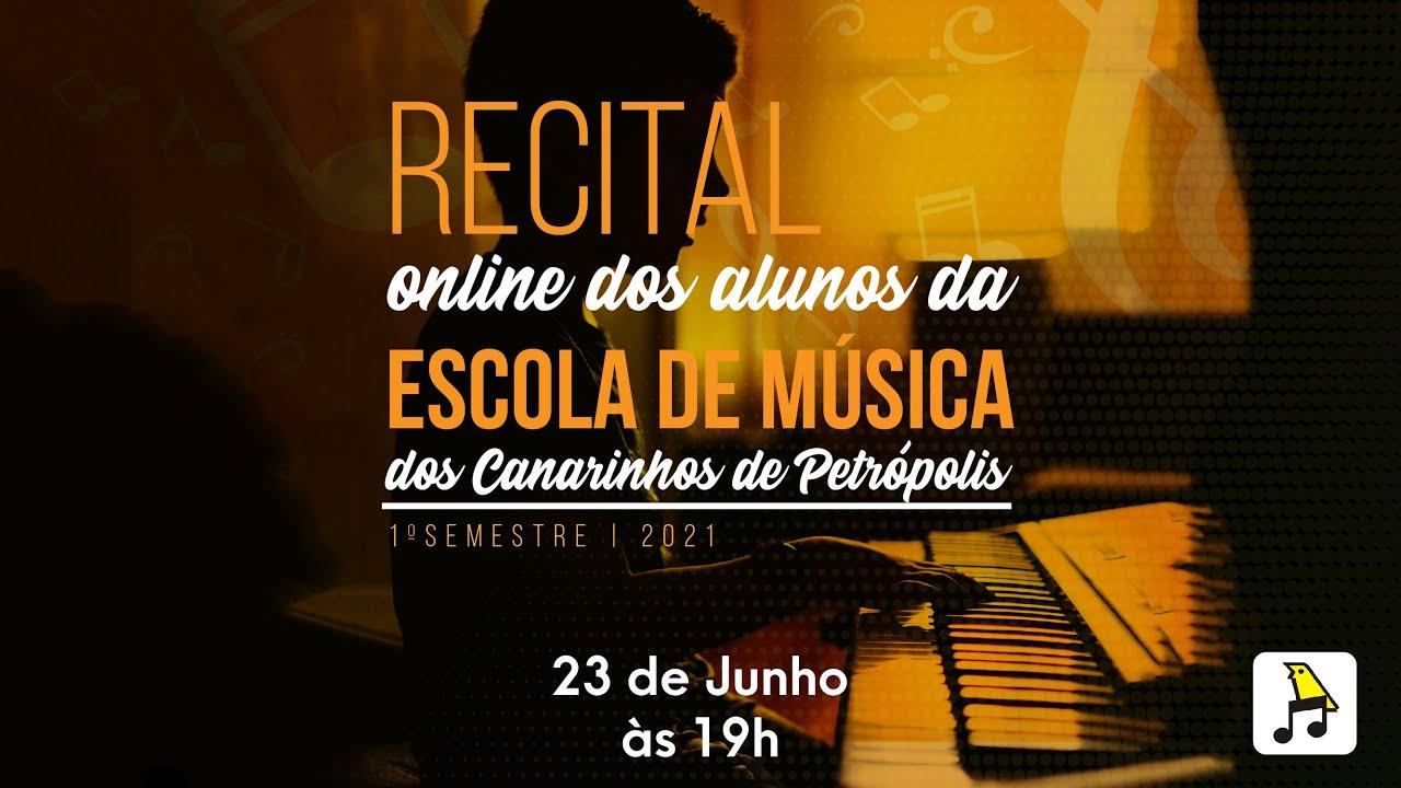 1º Dia | Recital online do Coral dos Canarinhos de Petrópolis