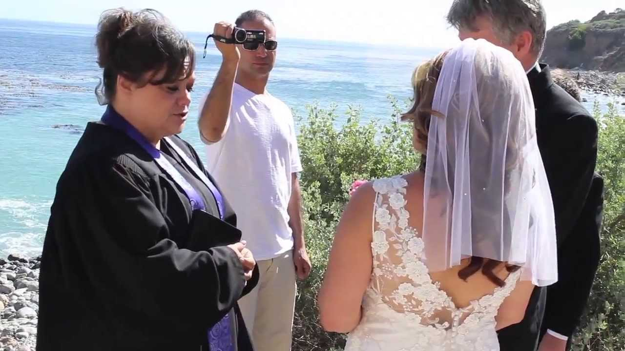 Beach Wedding near Terranea cove