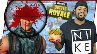 SNIPED HIS HEAD OFF! DON'T TEST ME! - FortNite Battle Royale Ep.53
