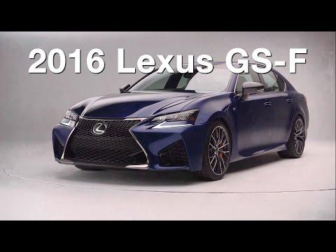 2016 Lexus GS-F – Redline: First Look – 2015 Detroit Auto Show