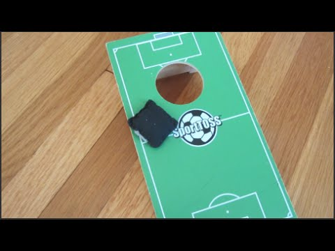 Mini Bean Bag/Cornhole Trick Shots!