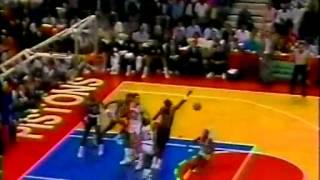 Isiah Thomas (33pts/6assts) vs Portland Trail Blazers (1990 Finals)