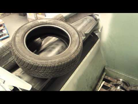 Video of the JBF 150-120 110kW Tyre Shredder Shredder