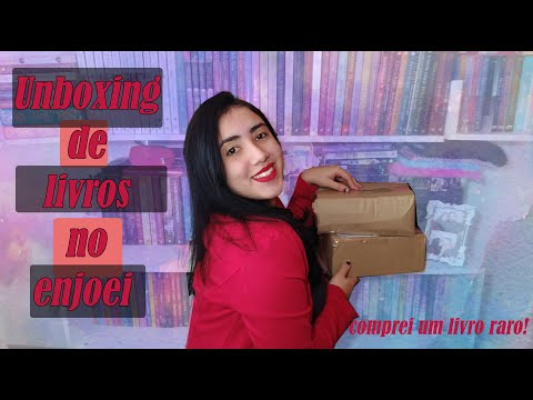 ?Unboxing de Livros do Enjoei? | ?Comprei um livro raro? | Leticia Ferfer | Livro Livro Meu |