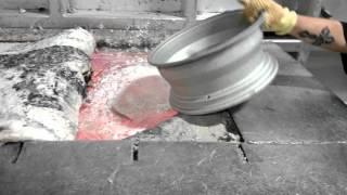 Melting Aluminum Rims - Video Youtube