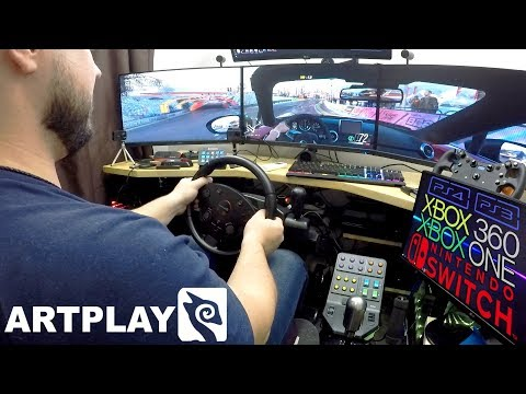 Самый универсальный бюджетный руль в мире Обзор Артплаис Стреет Ракинг Вхеел Тарбо К900