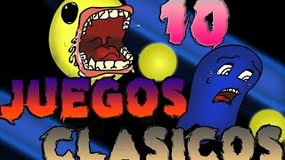 preview picture of video 'TOP | 10 Videojuegos Clásicos'