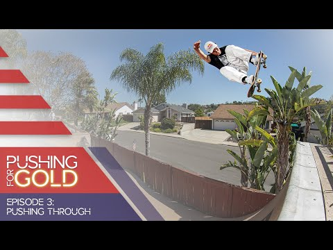USA National Skateboarding Team Pushes Through