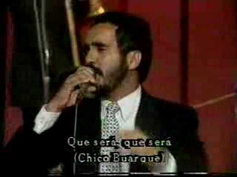 WILLIE COLON: OH QUE SERA -de Chico Buarque online metal music video by WILLIE COLÓN