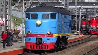 Парад железнодорожной техники (Владивосток)