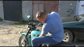 Купил мотоцикл за 10.000 на котором можно перевернуться.