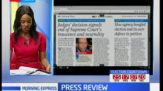 Judges's decision signals end of Supreme Court's innocence and neutrality, Press Review